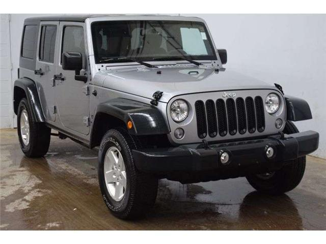 2015 Jeep Wrangler Unlimited SPORT 4X4 MANUAL - CRUISE * A/C * ALLOY RIMS (Stk: B3708) in Napanee - Image 2 of 30