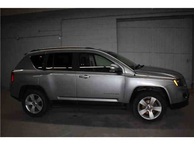 2017 Jeep Compass NORTH 4X4 -HTD SEATS * SUNROOF * LEATHER (Stk: B3728) in Kingston - Image 1 of 28