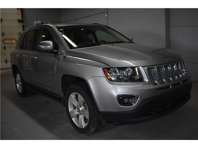 2017 Jeep Compass NORTH 4X4 -HTD SEATS * SUNROOF * LEATHER (Stk: B3728) in Kingston - Image 2 of 28