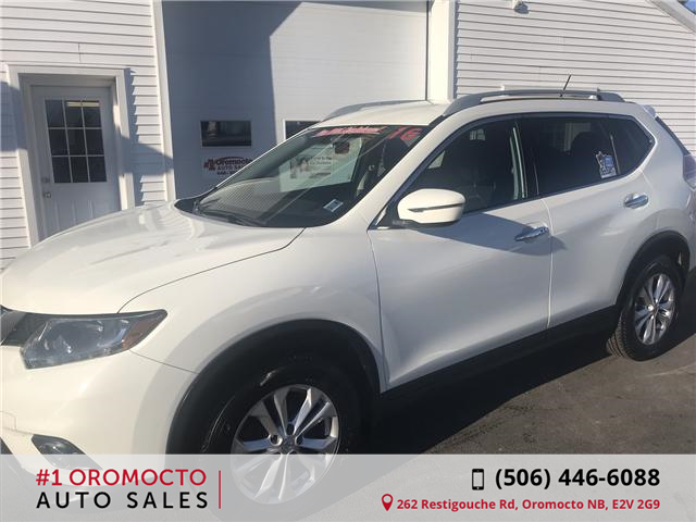 2016 Nissan Rogue SV (Stk: 569) in Oromocto - Image 2 of 16