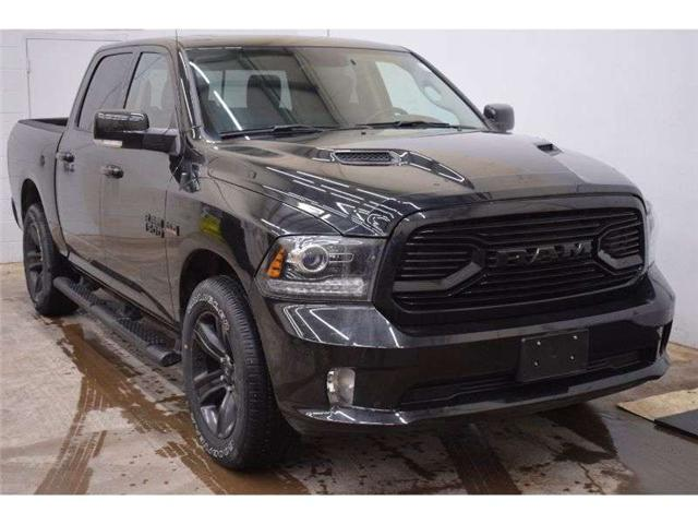 2018 RAM 1500 SPORT CREW CAB 4X4 - HTD SEATS * SUNROOF  (Stk: TRK218A) in Napanee - Image 2 of 30