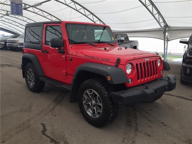 2015 Jeep Wrangler Rubicon (Stk: 173877) in AIRDRIE - Image 1 of 20