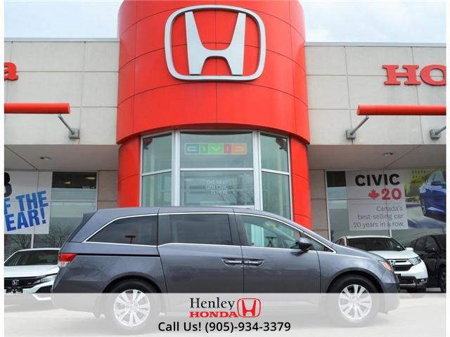 2015 Honda Odyssey EX BLUETOOTH POWER SLIDING DOORS BACK UP (Stk: R9353) in St. Catharines - Image 1 of 28