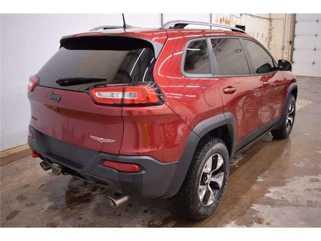 2017 Jeep Cherokee TRAILHAWK - BACKUP CAM * HTD SEATS * HTD STEERING (Stk: B3115A) in Kingston - Image 1 of 30