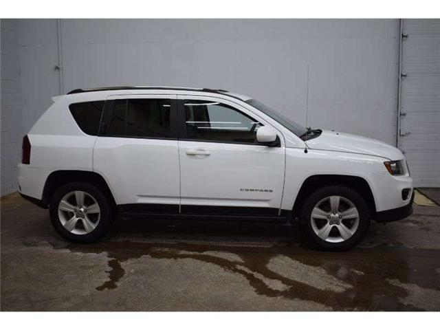 2017 Jeep Compass HIGH ALTITUDE 4X4- HTD SEATS * SAT RADIO * LEATHER (Stk: B3391) in Napanee - Image 1 of 30