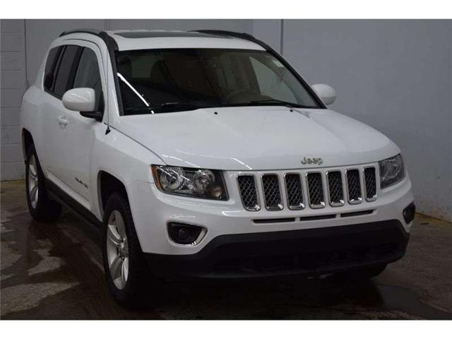 2017 Jeep Compass HIGH ALTITUDE 4X4- HTD SEATS * SAT RADIO * LEATHER (Stk: B3391) in Napanee - Image 2 of 30