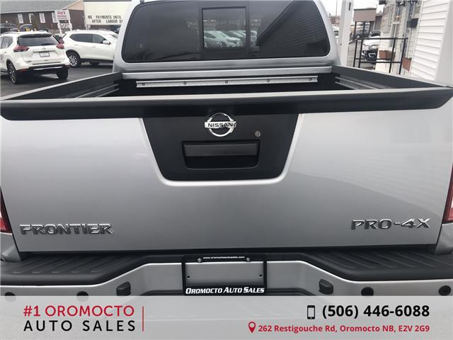 2019 Nissan Frontier PRO-4X (Stk: 754) in Oromocto - Image 4 of 34