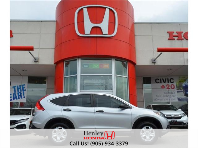 2014 Honda CR-V LX BLUETOOTH HEATED SEATS BACK UP CAMERA (Stk: R9358) in St. Catharines - Image 1 of 22