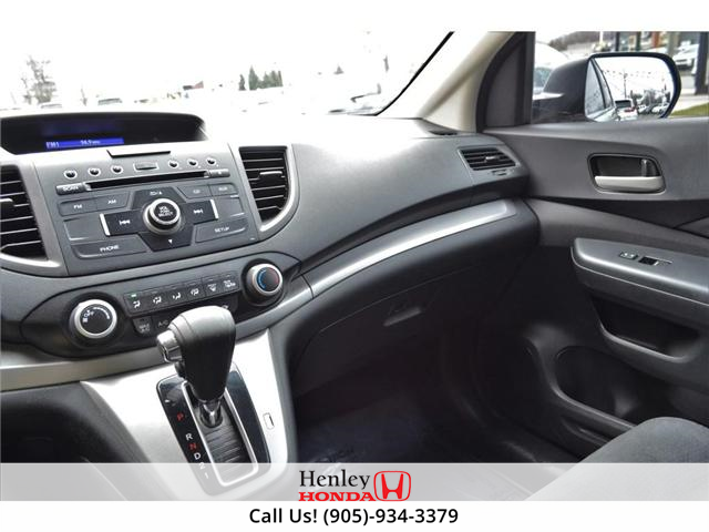 2014 Honda CR-V LX BLUETOOTH HEATED SEATS BACK UP CAMERA (Stk: R9358) in St. Catharines - Image 9 of 22