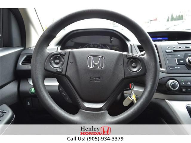 2014 Honda CR-V LX BLUETOOTH HEATED SEATS BACK UP CAMERA (Stk: R9358) in St. Catharines - Image 13 of 22