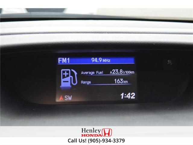 2014 Honda CR-V LX BLUETOOTH HEATED SEATS BACK UP CAMERA (Stk: R9358) in St. Catharines - Image 16 of 22