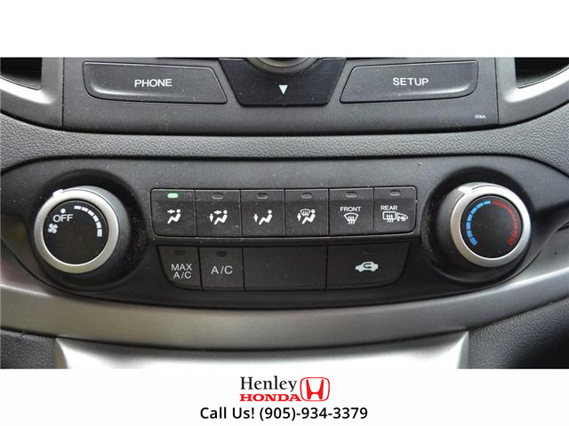 2014 Honda CR-V LX BLUETOOTH HEATED SEATS BACK UP CAMERA (Stk: R9358) in St. Catharines - Image 18 of 22