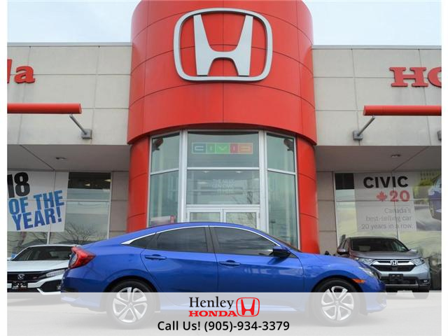 2016 Honda Civic LX BLUETOOTH HEATED SEATS BACK UP CAMERA (Stk: R9368) in St. Catharines - Image 1 of 20
