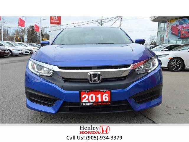 2016 Honda Civic LX BLUETOOTH HEATED SEATS BACK UP CAMERA (Stk: R9368) in St. Catharines - Image 2 of 20