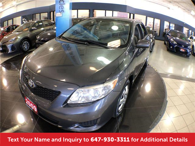2009 Toyota Corolla CE (Stk: K8411A) in Mississauga - Image 1 of 16