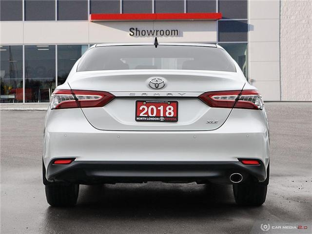 2018 Toyota Camry XLE (Stk: A219520) in London - Image 5 of 27