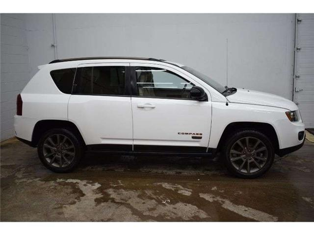 2017 Jeep Compass NORTH 4X4 - HTD SEATS * LEATHER * SAT RADIO (Stk: B3727) in Kingston - Image 1 of 30