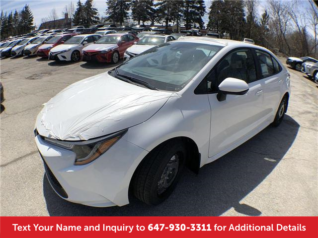 2020 Toyota Corolla LE (Stk: L3009) in Mississauga - Image 1 of 19