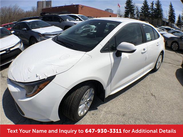 2020 Toyota Corolla LE (Stk: L3012) in Mississauga - Image 1 of 20