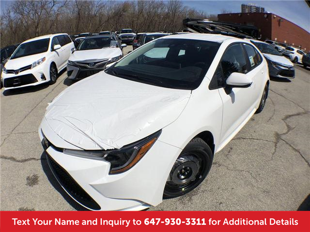 2020 Toyota Corolla LE (Stk: L3015) in Mississauga - Image 1 of 19