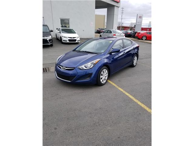 2015 Hyundai Elantra Sport Automatic (Stk: P19-057a) in Dartmouth - Image 1 of 7