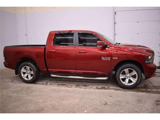 2014 RAM 1500 SPORT 4X4 CREW CAB-SAT RADIO * TOUCH SCREEN (Stk: B3452A) in Kingston - Image 1 of 30
