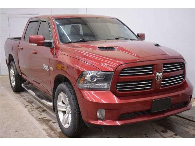 2014 RAM 1500 SPORT 4X4 CREW CAB-SAT RADIO * TOUCH SCREEN (Stk: B3452A) in Kingston - Image 2 of 30