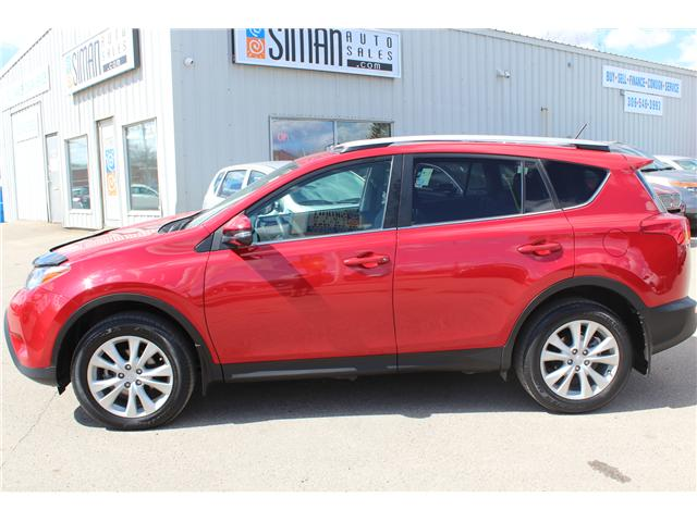 2015 Toyota RAV4 Limited (Stk: P1636) in Regina - Image 2 of 16