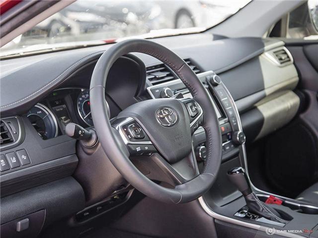 2017 Toyota Camry Hybrid XLE (Stk: U10982) in London - Image 6 of 27