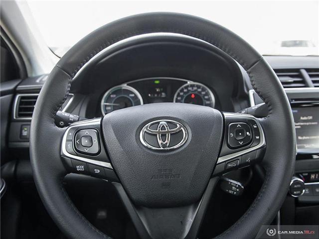 2017 Toyota Camry Hybrid XLE (Stk: U10982) in London - Image 7 of 27