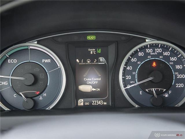 2017 Toyota Camry Hybrid XLE (Stk: U10982) in London - Image 8 of 27