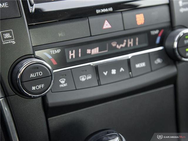 2017 Toyota Camry Hybrid XLE (Stk: U10982) in London - Image 13 of 27