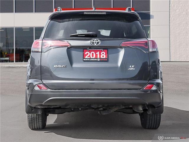 2018 Toyota RAV4 LE (Stk: U10988) in London - Image 5 of 27