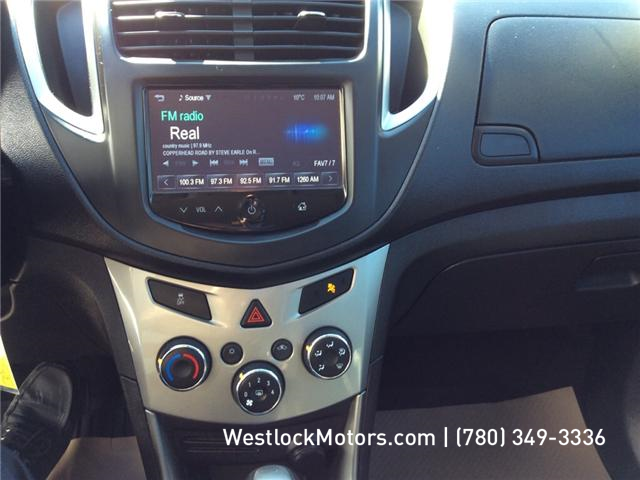 2016 Chevrolet Trax LT (Stk: 19T148A) in Westlock - Image 10 of 15