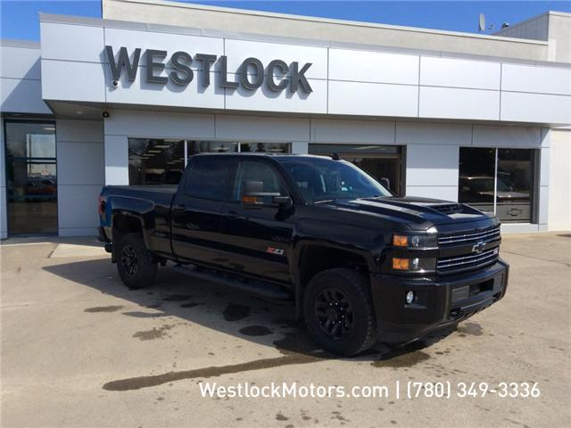 2018 Chevrolet Silverado 2500HD LTZ (Stk: T1908) in Westlock - Image 1 of 27