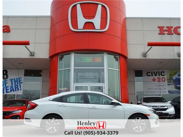 2016 Honda Civic EX SUNROOF ALLOYS HEATED SEATS BLUETOOTH BACK UP (Stk: R9365) in St. Catharines - Image 1 of 23