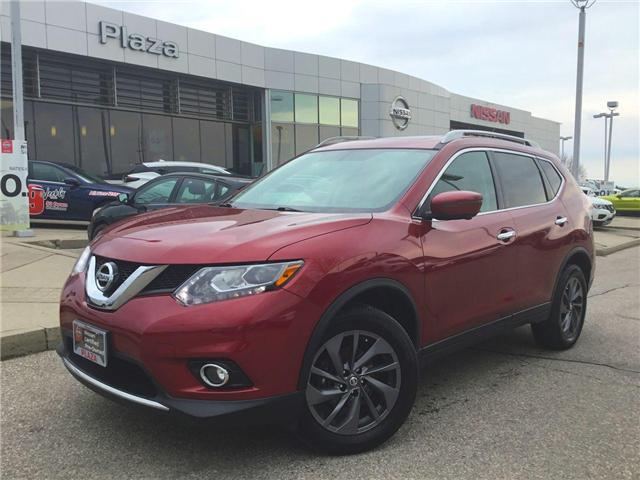 2016 Nissan Rogue SL Premium (Stk: T7493) in Hamilton - Image 1 of 28