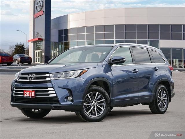 2018 Toyota Highlander XLE (Stk: A219332) in London - Image 1 of 27