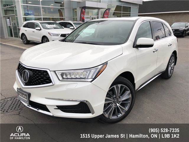 2017 Acura MDX Technology Package (Stk: 1713790) in Hamilton - Image 1 of 22