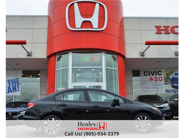 2014 Honda Civic EX SUNROOF ALLOY WHEELS BACK UP (Stk: B0831) in St. Catharines - Image 1 of 22