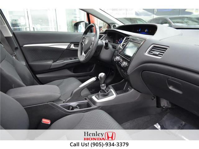 2014 Honda Civic EX SUNROOF ALLOY WHEELS BACK UP (Stk: B0831) in St. Catharines - Image 8 of 22