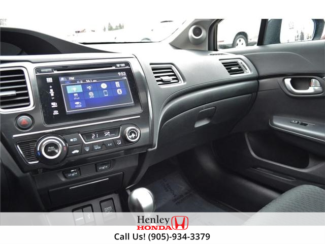 2014 Honda Civic EX SUNROOF ALLOY WHEELS BACK UP (Stk: B0831) in St. Catharines - Image 9 of 22