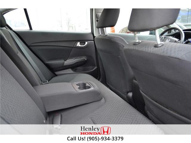 2014 Honda Civic EX SUNROOF ALLOY WHEELS BACK UP (Stk: B0831) in St. Catharines - Image 10 of 22