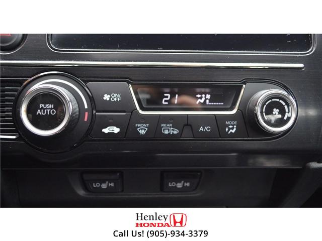 2014 Honda Civic EX SUNROOF ALLOY WHEELS BACK UP (Stk: B0831) in St. Catharines - Image 18 of 22