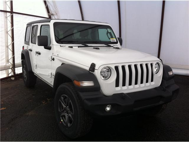 2019 Jeep Wrangler Unlimited Sport (Stk: 190198) in Ottawa - Image 1 of 25