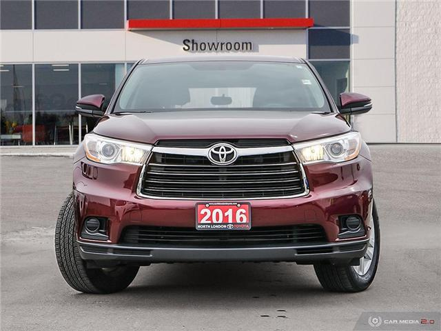 2016 Toyota Highlander LE (Stk: A219432) in London - Image 2 of 27