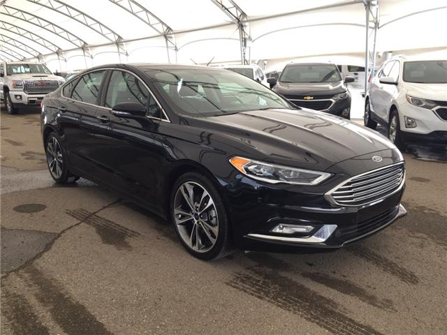 2017 Ford Fusion Titanium (Stk: 174157) in AIRDRIE - Image 1 of 22