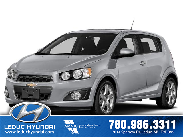 2014 Chevrolet Sonic LT Auto (Stk: L0124) in Leduc - Image 1 of 10