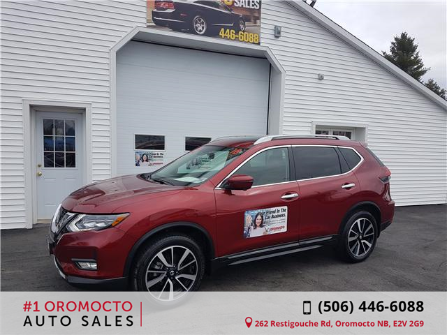 2018 Nissan Rogue SL (Stk: 390) in Oromocto - Image 1 of 19
