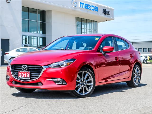 2018 Mazda Mazda3 GT (Stk: 19-1383TA) in Ajax - Image 1 of 30